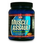 MUSCLE ASSAULT NITRIC OXIDE - 750g (Arancia)